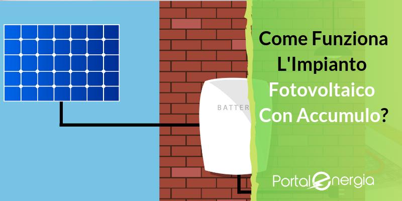 Impianto Fotovoltaico con Accumulo: Come Funziona e Perché Conviene