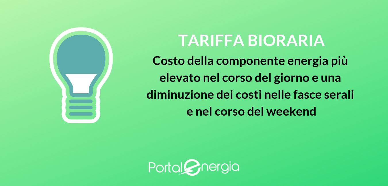 tariffa bioraria