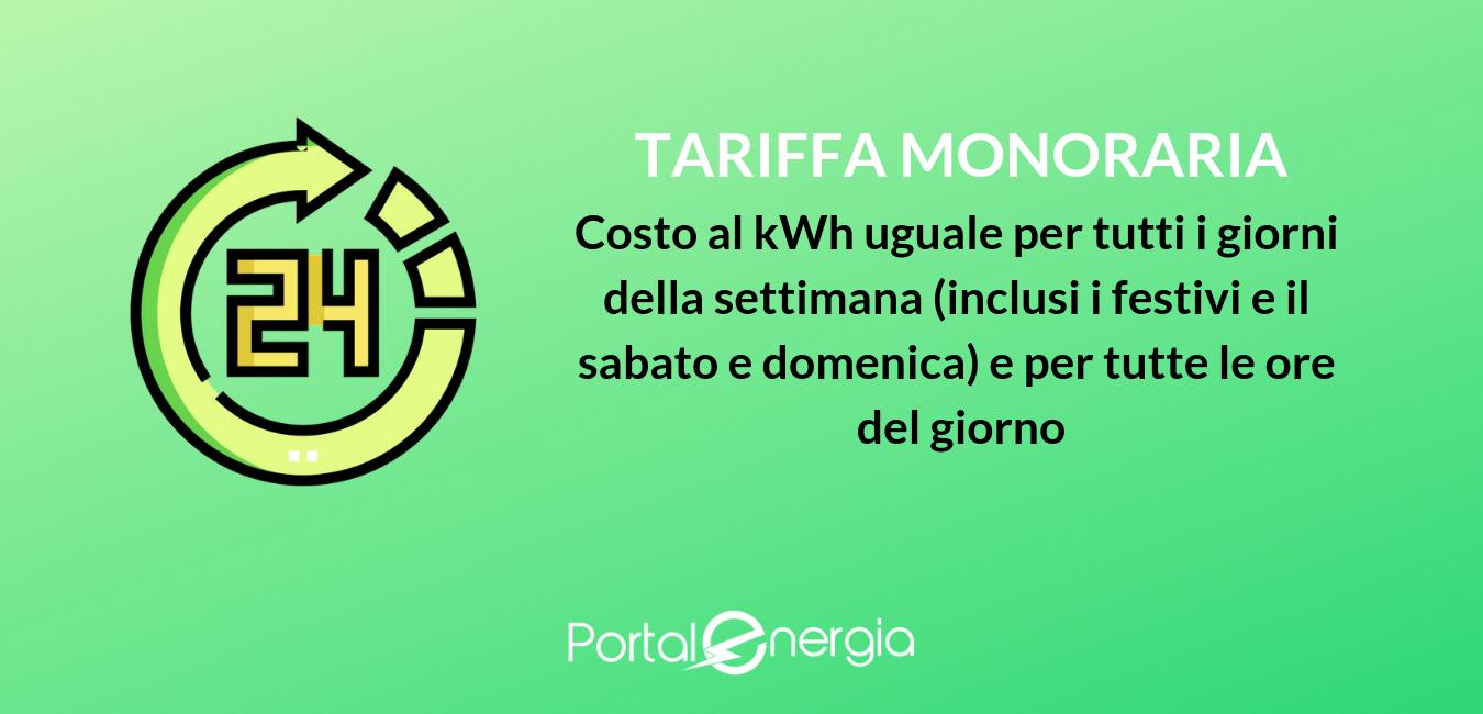 tariffa monoraria